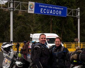 Just waiting to get into Ecuador. Photo by Michnus Olivier.