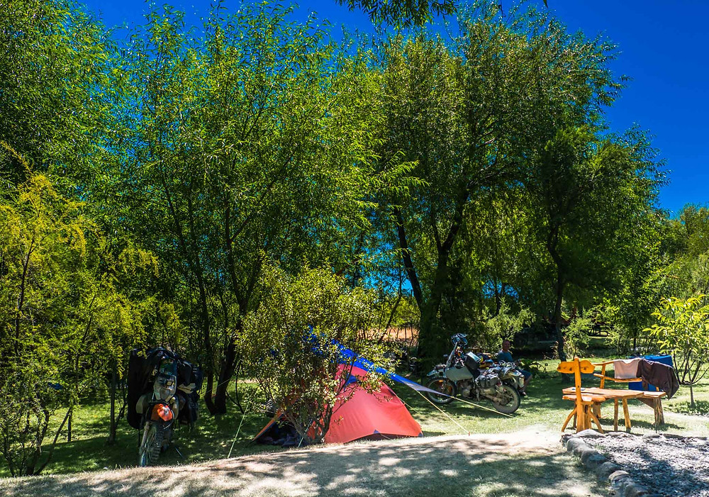 Camping at Viñas Nant y Fall, Trevelin, Patagonia - AvVida.co.uk