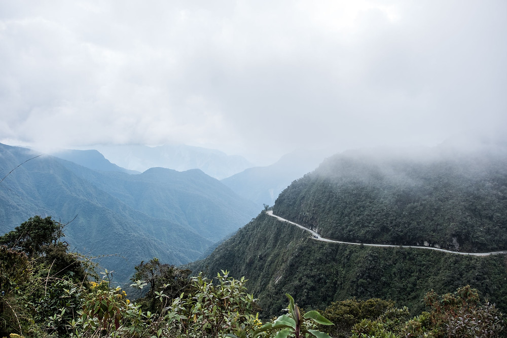 Death Road, Bolivia -AvVida.co.uk
