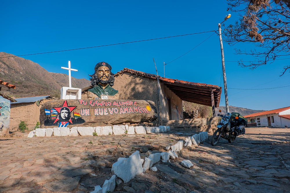 La Higuera Che Monument, Bolivia - AvVida.co.uk