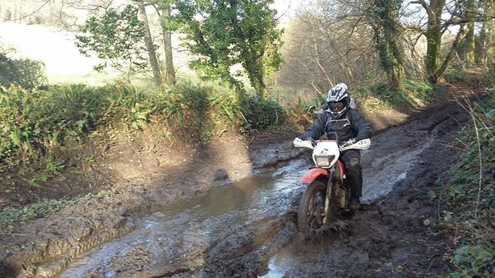 Suzie Green Roading on CRF230