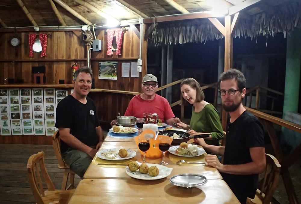 Kelvin, Samuel, Luiza and Egor ready for Bolon!