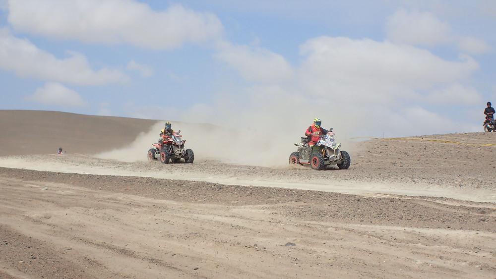 Dakar 2018 quad riders