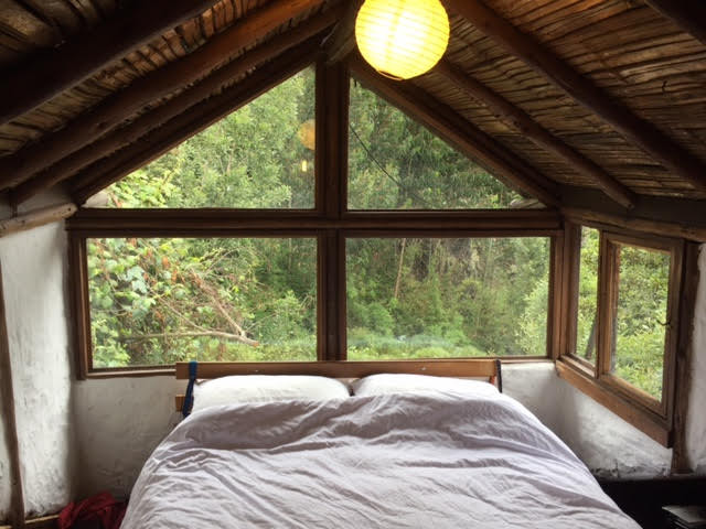 Our cosy hostel bed