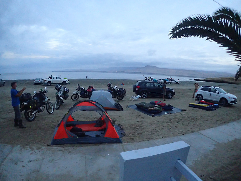 Our camping spot for the night