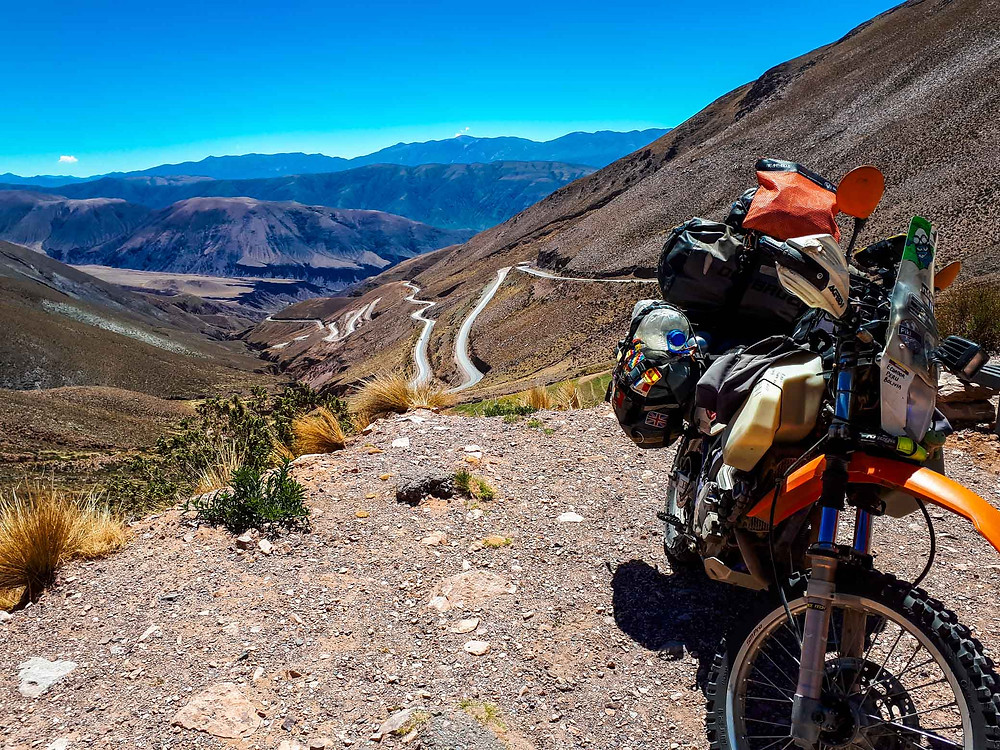 DR650 Argentina pass - AvVida.co.uk