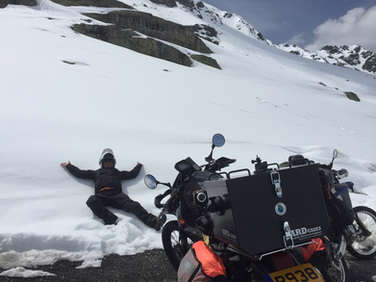 Snow Angels in the Alps