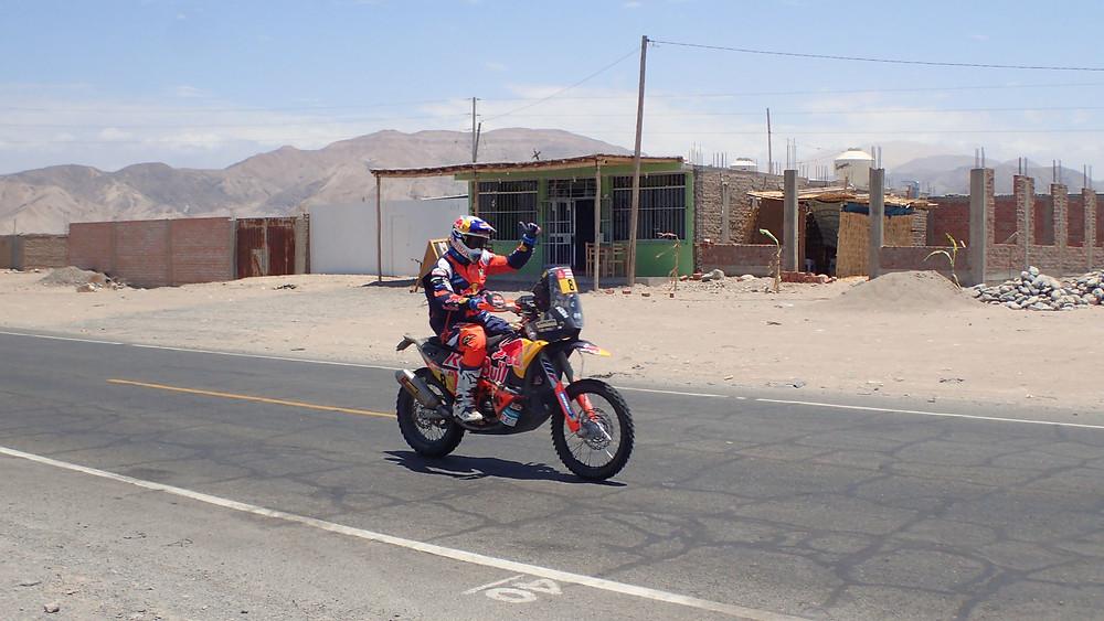 Toby Price Dakar 2018