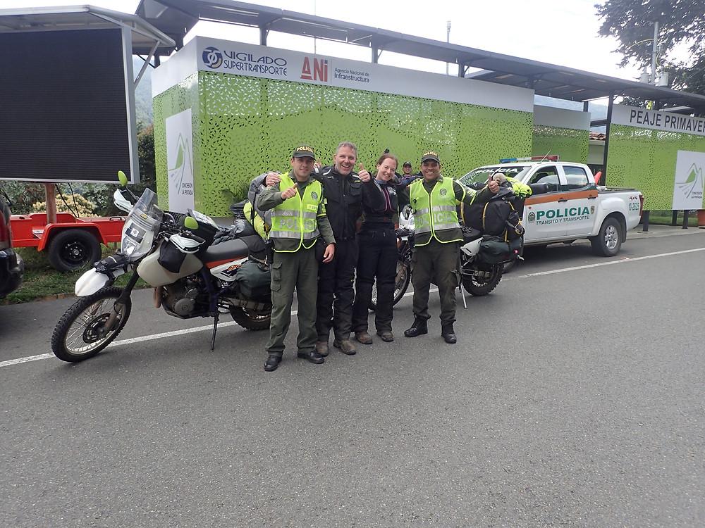 Lovely Colombian cops!
