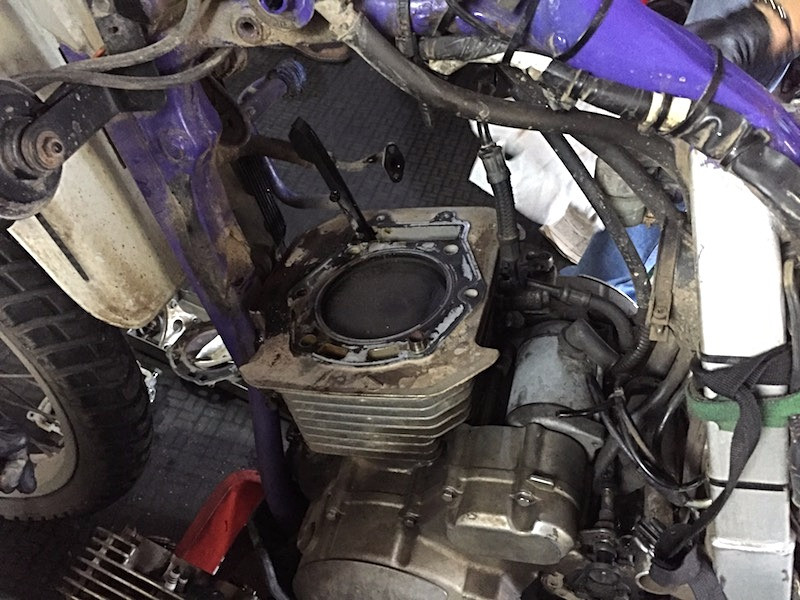 Top end of my engine removed