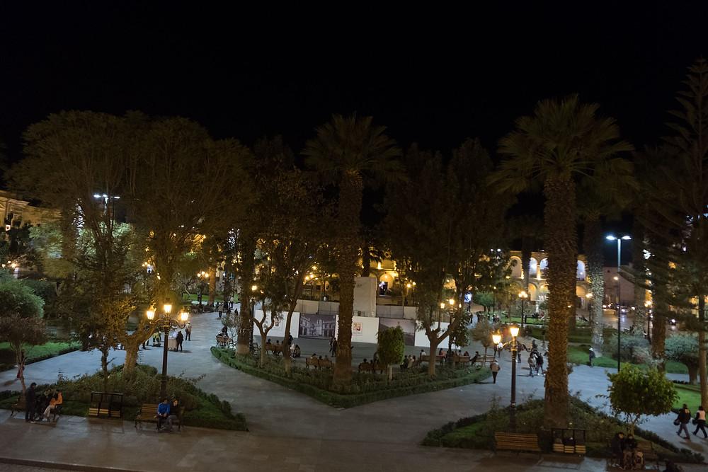 Arequipa main square - AvVida.co.uk