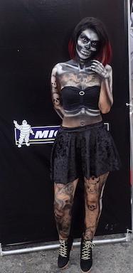 Michelin Girl at Harley Fest