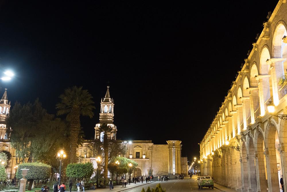 Main plaza Arequipa - AvVida.co.uk