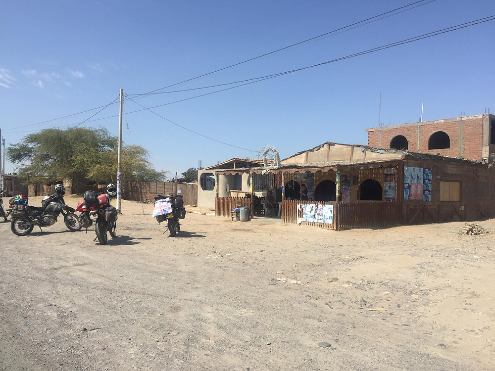Dakar road side food stop