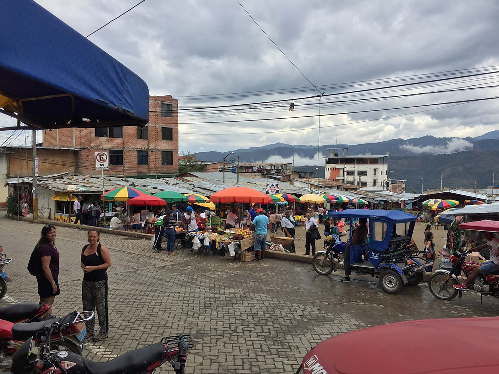 San Ignacio town / market square. Photo by Michnus Olivier.