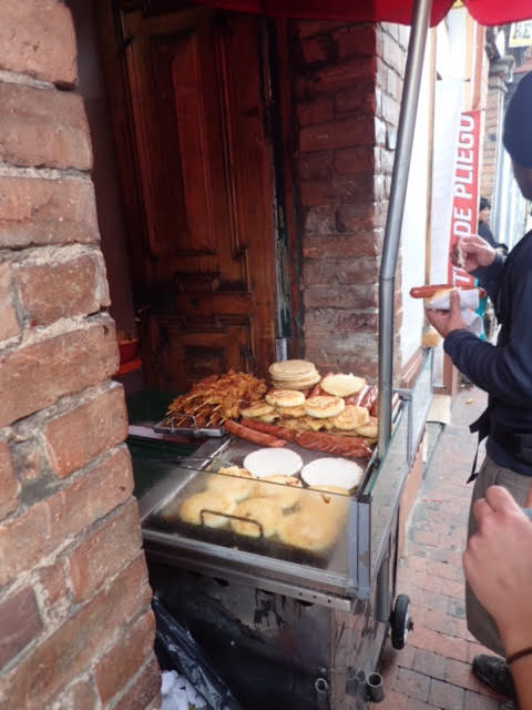 Arepas, Chorizos and other lovely street food