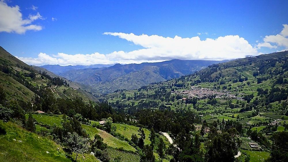 The town of El Cocuy