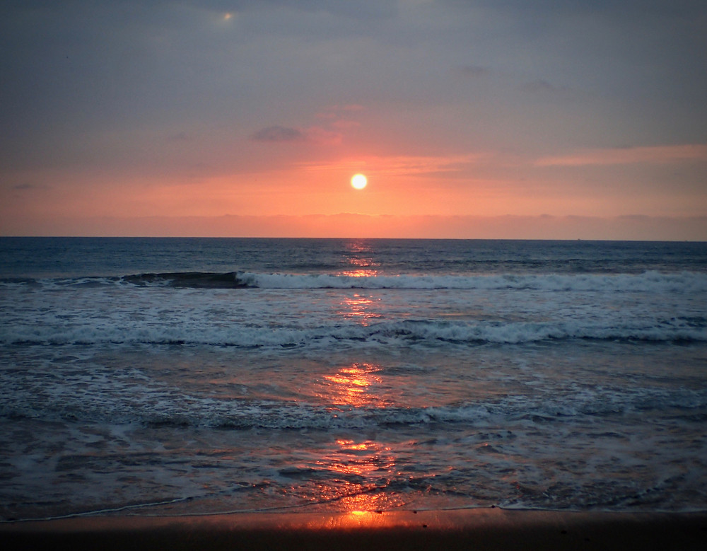 Gorgeous Puerto Cayo sunset