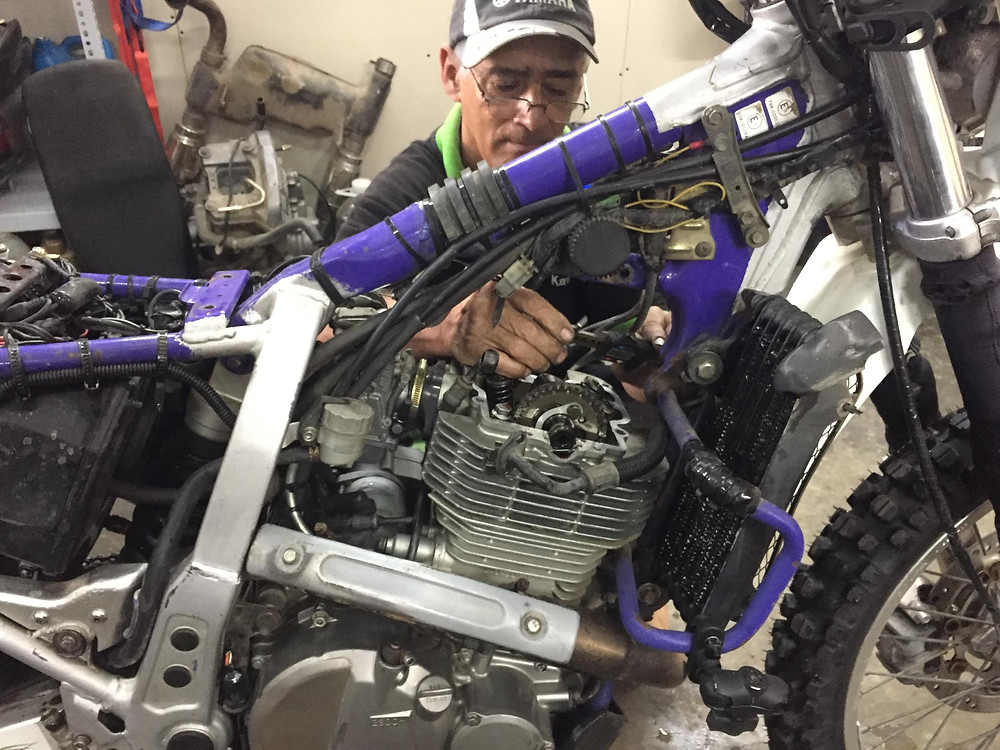 Herney at Documoto dismantling my engine.