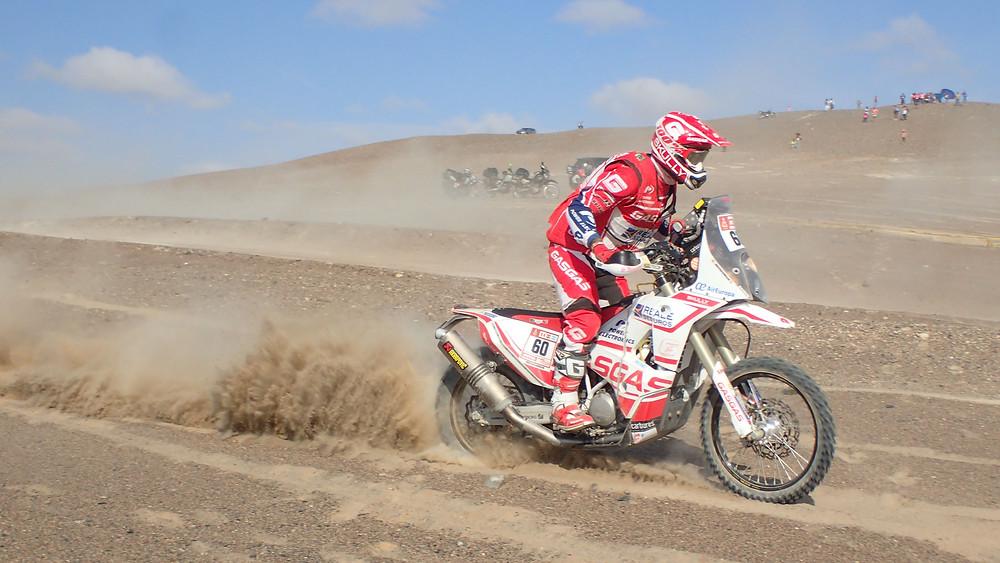 Dakar 2018 rider