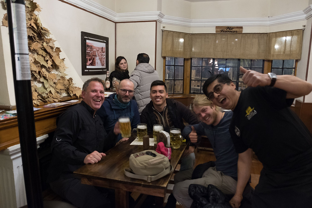 Kelvin, Phillipe, Colombian Guy, Matthias and Beef & Beer guy -AvVida.co.uk