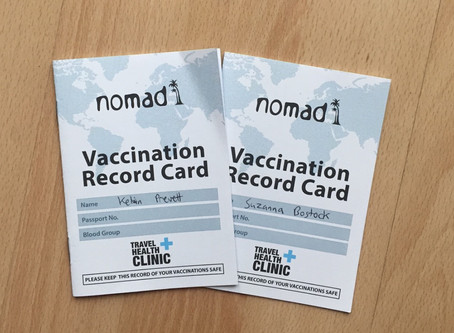 Vaccinations - Jabs all sorted