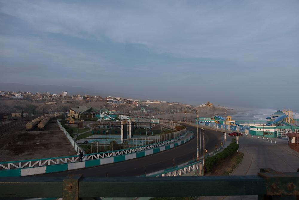 View of a very quiet Mollendo, Peru - AvVida.co.uk