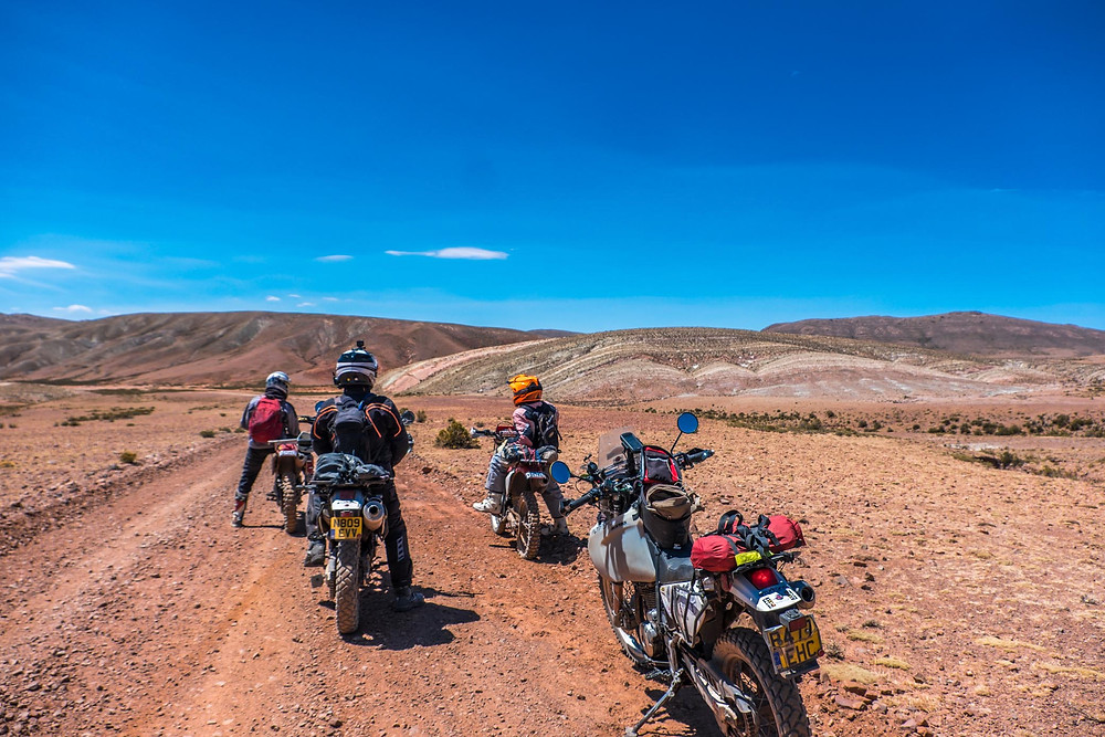 Day ride with Robin and Windy on the back roads around Uyuni - AvVida.co.uk
