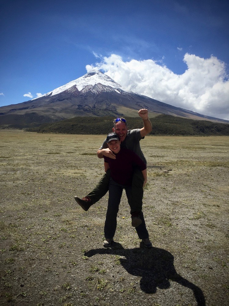 A heavy load at Cotopaxi NP