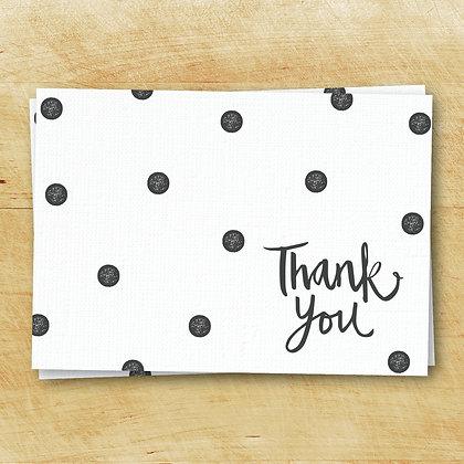 Thank You Cards - Folded (Set of 10)