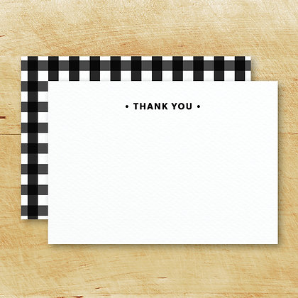 Thank You Note Cards (Set of 15)