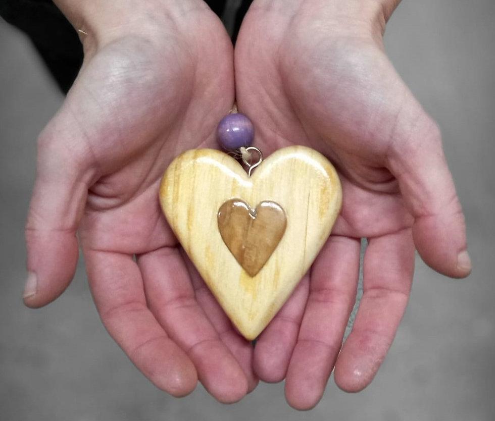 Artesanía hecha  a mano desde el corazón