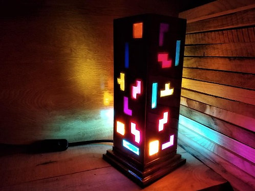 Lámpada Tetris