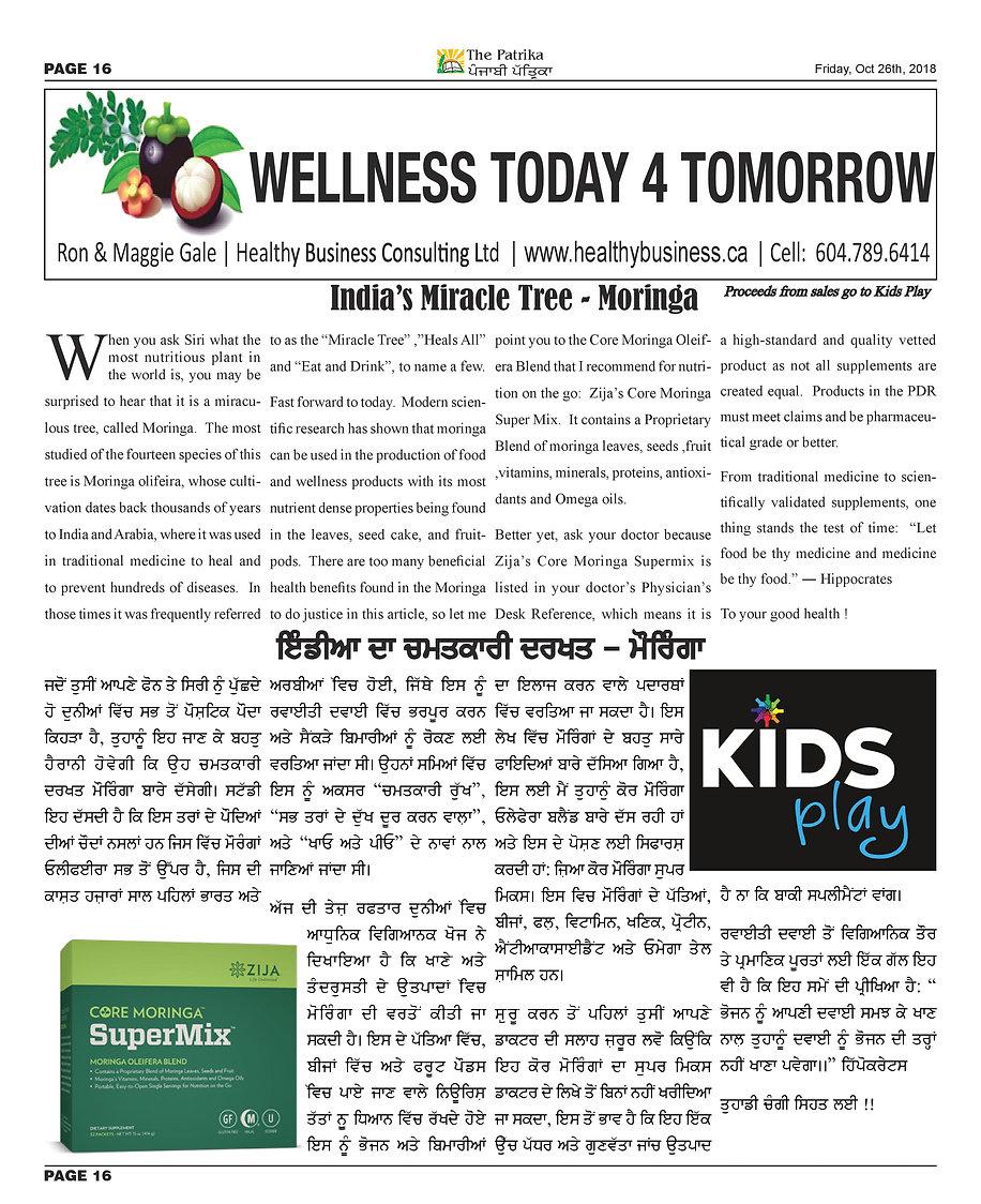 Wellness Today 4 Tomorrow - Moringa-page