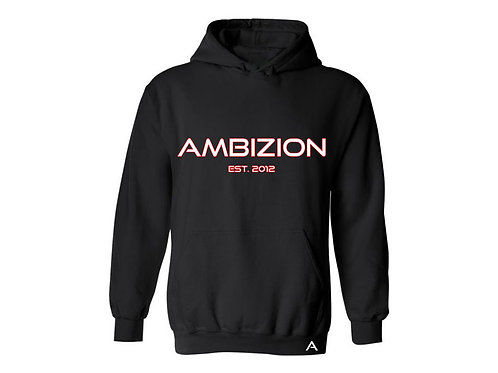 Ambizion Hoodie for Pooch Parent Black