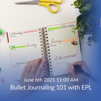 Bullet Journalling 101 with the EPL