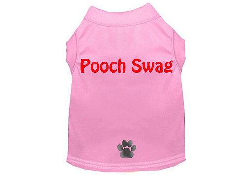 Pooch Swag T-Shirt Pink