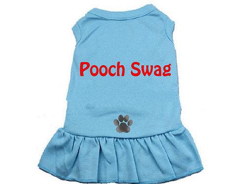 Pooch Swag Dress Blue