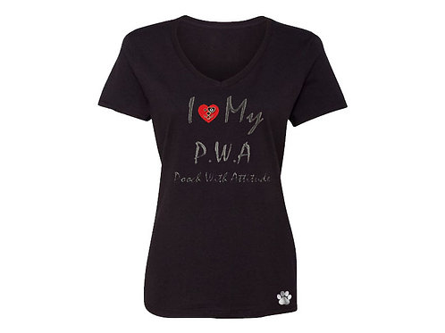 PWA Pooch with Attitude Pooch T-Shirt for Mom