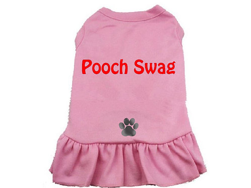 Pooch Swag Doggy Dress Pink