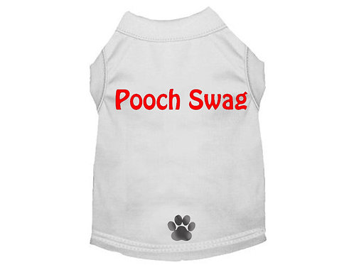 Pooch Swag T-Shirt White