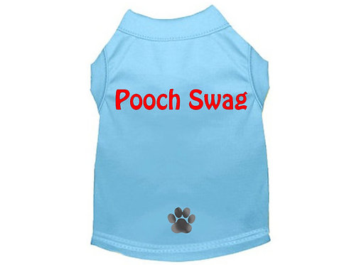 Pooch Swag Shirt Blue