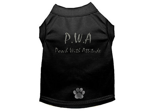 PWA Pooch with Attitude Pooch T-Shirt