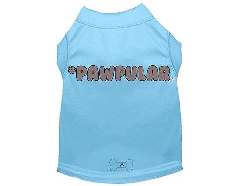 Pawpular T-Shirt Blue