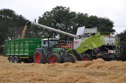 Another Broughan Grain Traailer in Action