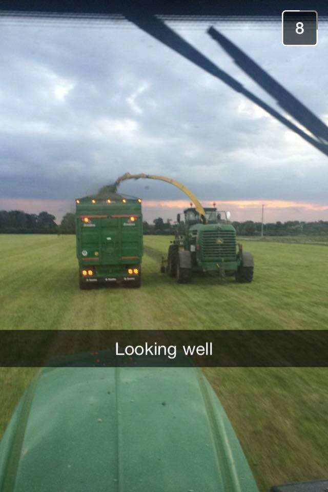 Snapchat of a Broughan Trailer