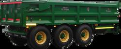 Tri Axle Dump Trailer