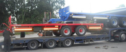 28ft & 25ft Bale Trailers Leaving the Factory