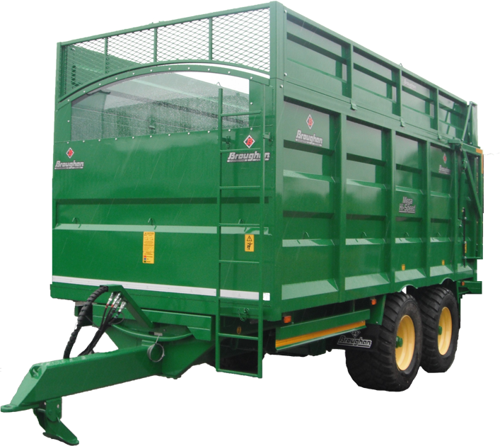 Twin Axle Silage Trailer with Rounde