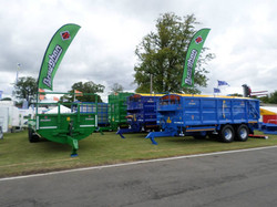 Broughan Trailers at The Royal Highland Show